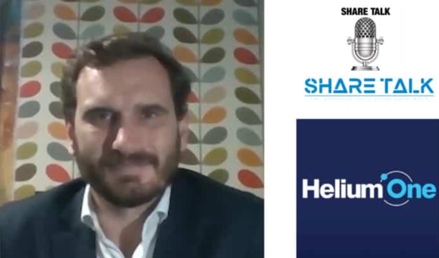 David Minchin, CEO of Helium One Global Ltd (HE1.L) Interview – Share Talk